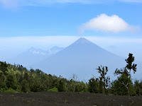 Volcano climbs and eruptions