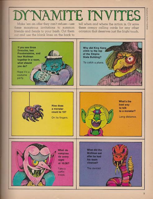 Garage Sale Finds: 1975 Halloween Dynamite pg 9 (OKC Craigslist Garage Sales)