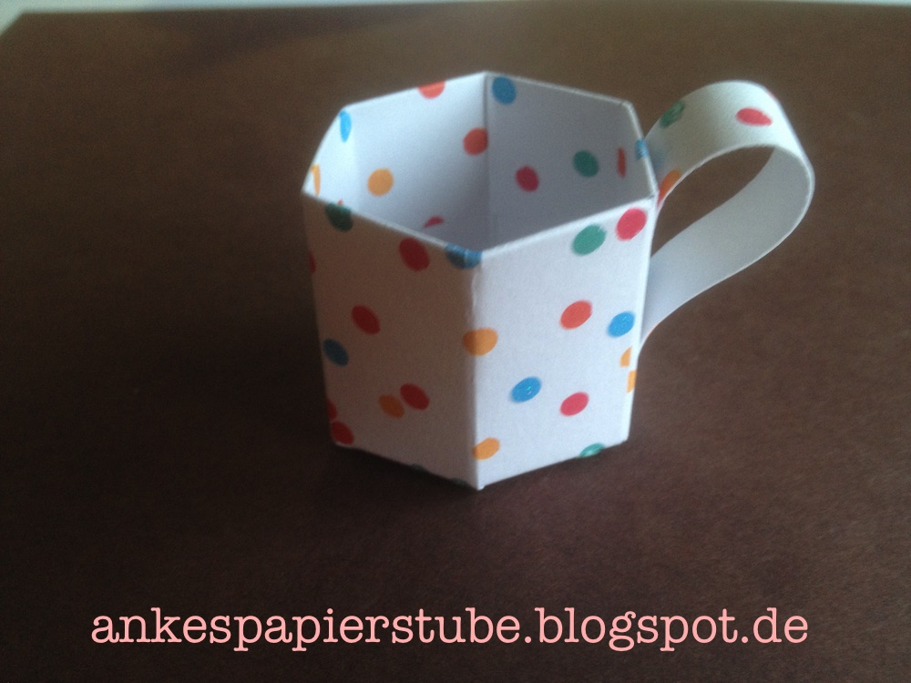 Basteln Mit Tassen ankes papierstube mini tassen goodies