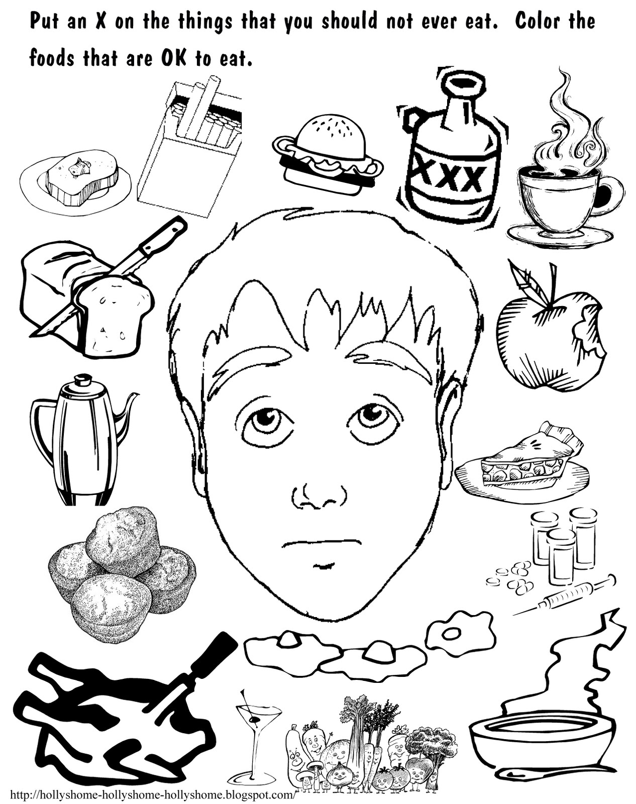 kids coloring pages on wisdom - photo#31