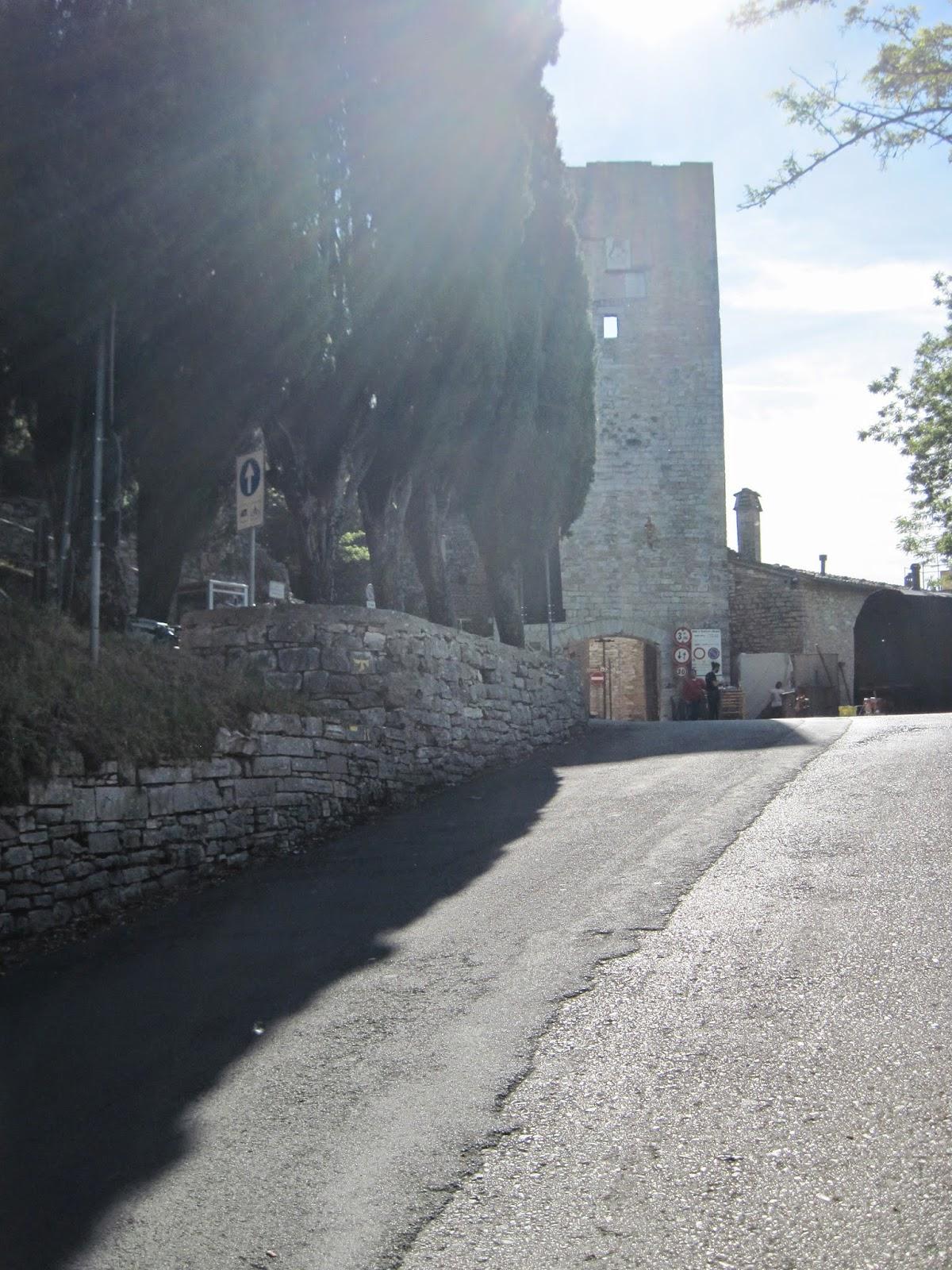 Peace of tau walking from gubbio to assisi - Porta san giacomo assisi ...
