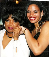 Oprah Winfrey and Maria Smith