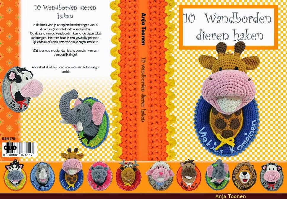 Mijn derde boek: 10 Wandborden dieren haken