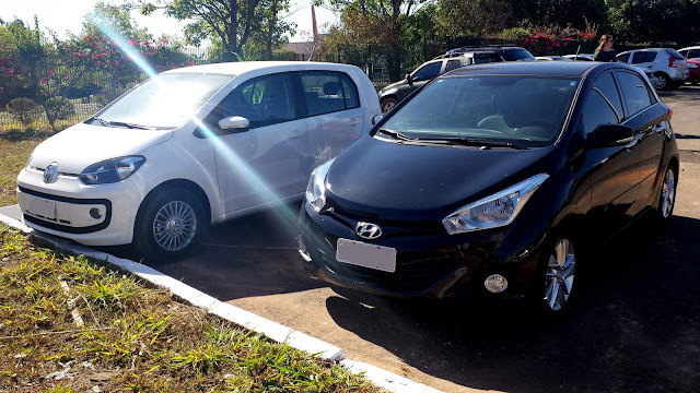 Hyundai HB20 x Up! TSI