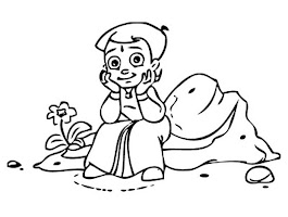 Chota Bheem Coloring Pages Free