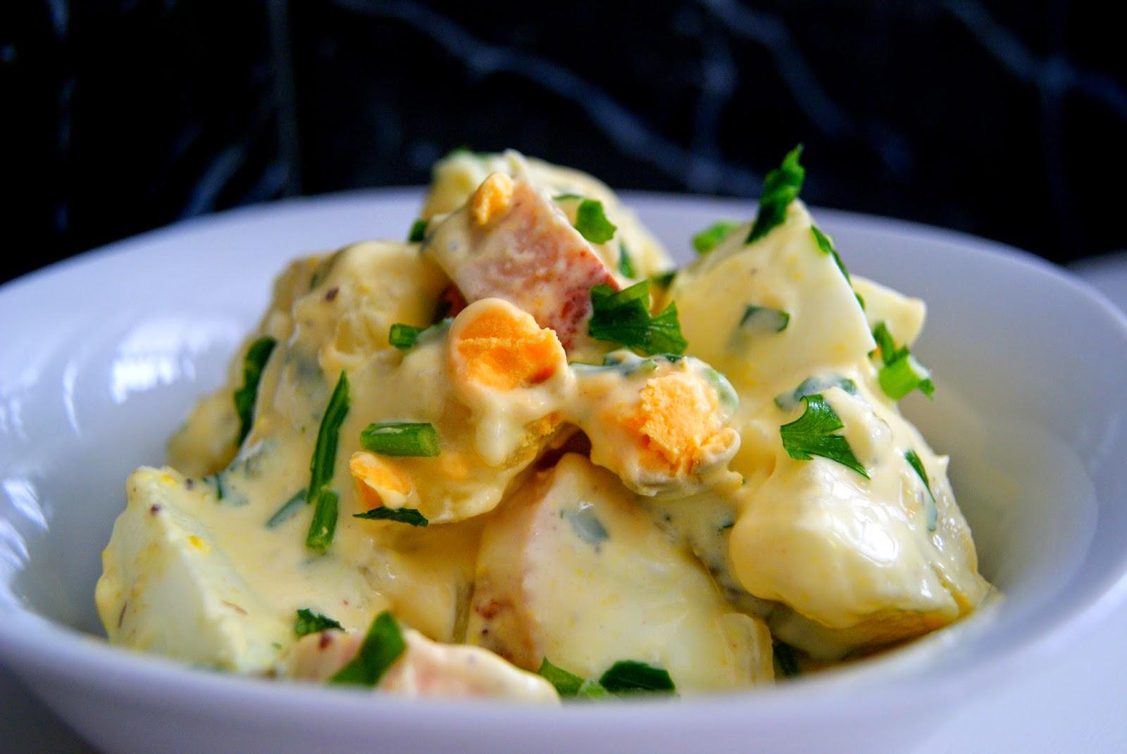 Ensalada alemana de patata kartoffelsalat recetas de - Ensalada alemana de patatas ...