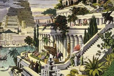 حدائق بابل المعلقة , عجائب الدنيا السبع بالصور