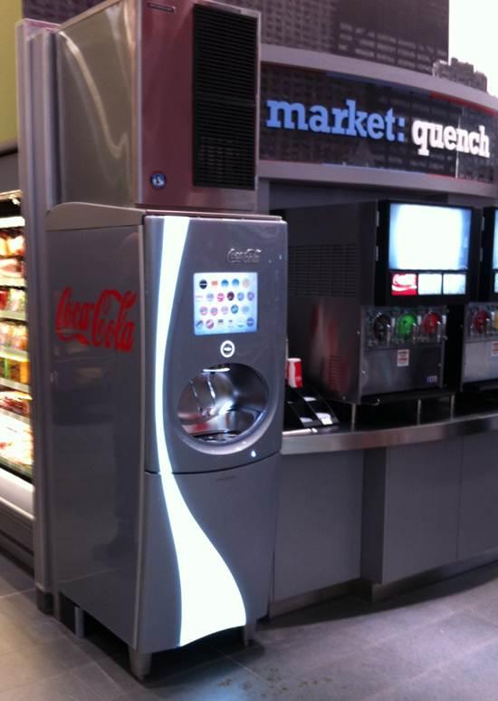 coke freestyle machine cost