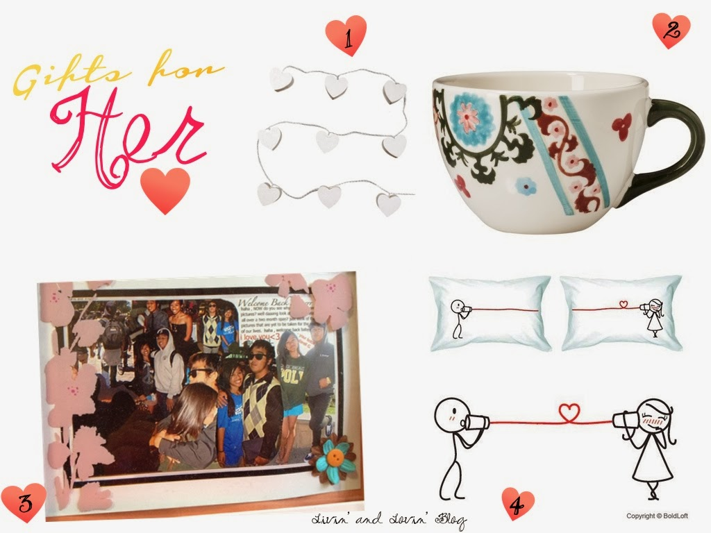 Gift Guide For Him Amp Her. Fun Valentine's Gifts For College ...