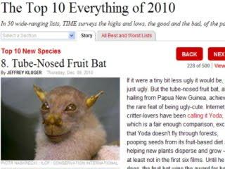 2010 十大新物種