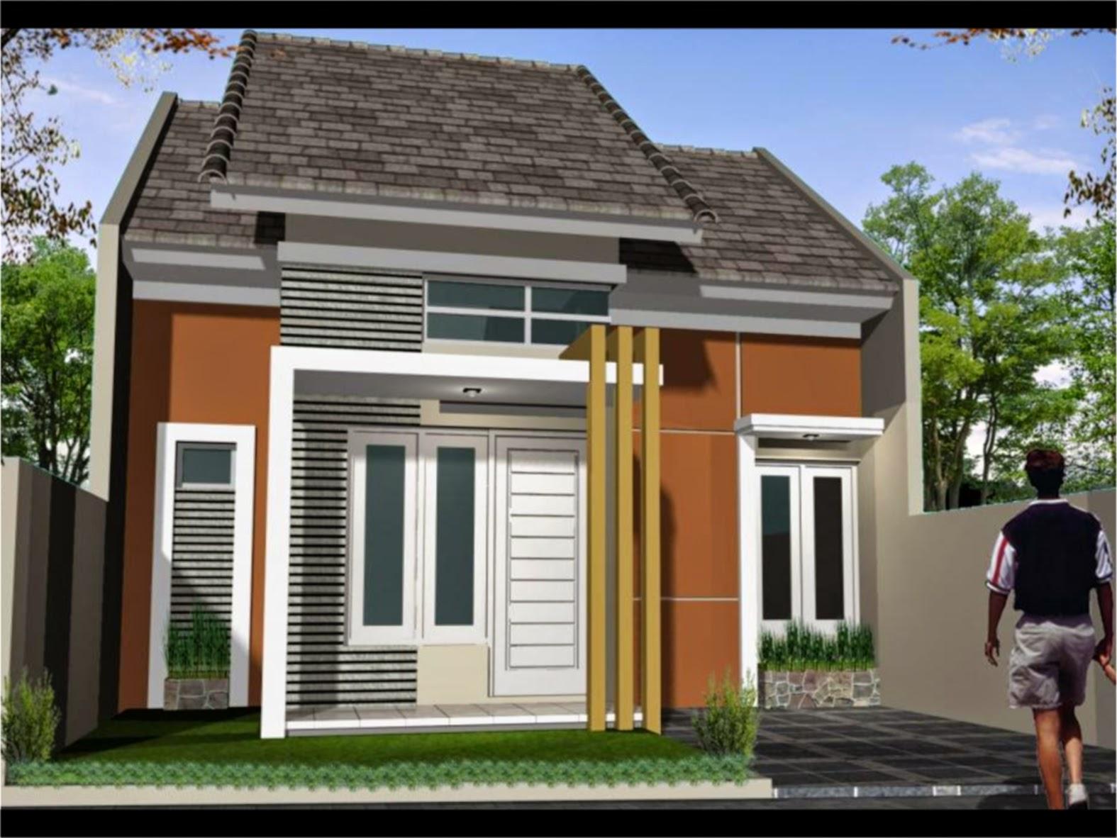 Desain Dan Denah Model Rumah Minimalis Type 45 Rumah Minimalis & Gambar Desain Eksterior Rumah Minimalis Type 45 Terbaru | Desain ...