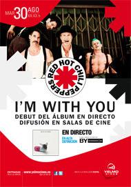Concierto de Red Hot Chili Peppers en los cines Yelmo