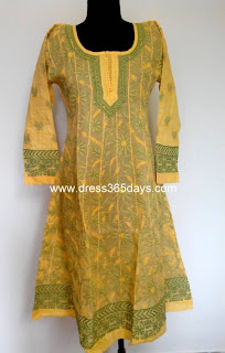 Chikankari Anarkali Suits