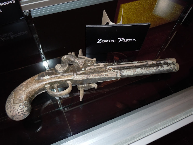 Pirates of the Caribbean 4 Zombie pistol
