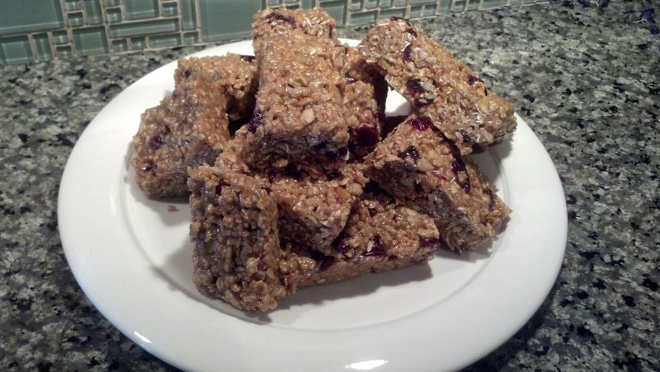 Peanut Butter Breakfast Bars | My Favorite Recipes