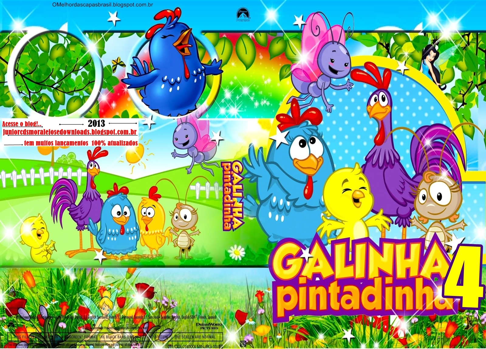 Download Galinha Pintadinha Volume 4 DVDRip XviD Nacional