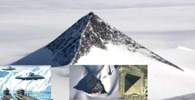 Ανακάλυψαν πυραμίδες και πανάρχαια πόλη στην Ανταρκτική; (Βίντεο)