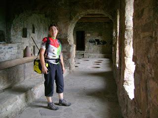 Monasterio de Nekresi. Interior