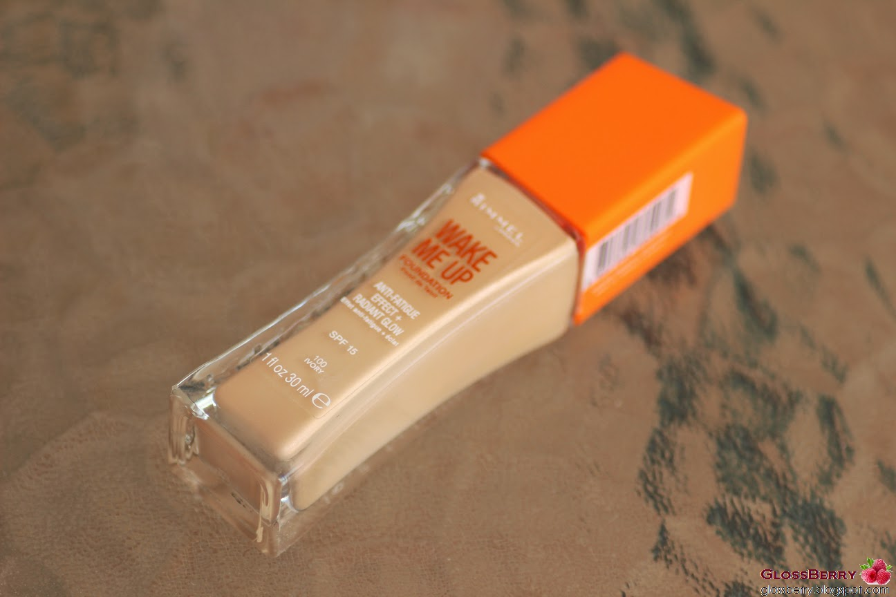 rimmel wake me up foundation סקירה