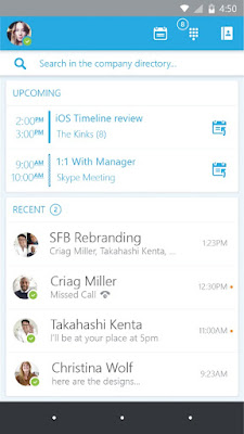 Microsoft launches Skype for Business Preview apps for Android and iOS