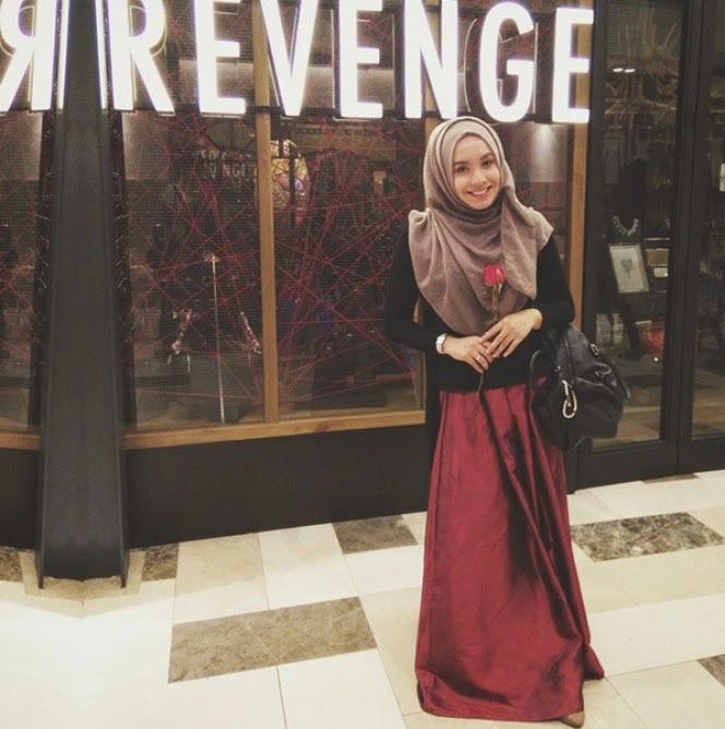 Cantiknya `Selebgram` Hijab Mya Zulkifli