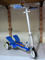 Skuter Dual Pedal Advance