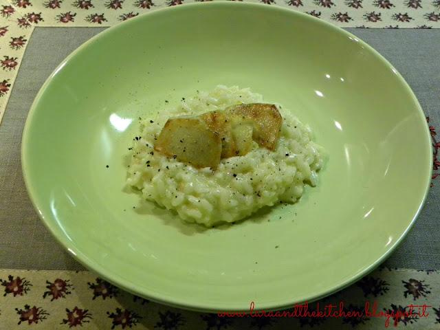 risotto mantecato con topinambur