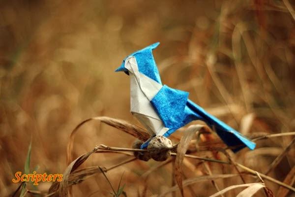 Seni Origami Yang Comel Sangat!
