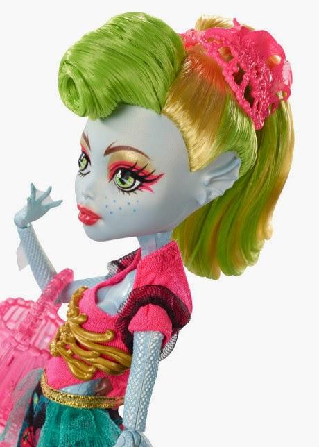 TOYS : JUGUETES - MONSTER HIGH  Freaky Fusion - Lagoonafire | Muñeca | Monstruo-Fusis  Producto Oficial 2014 | Mattel BJR37 | A partir de 6 años