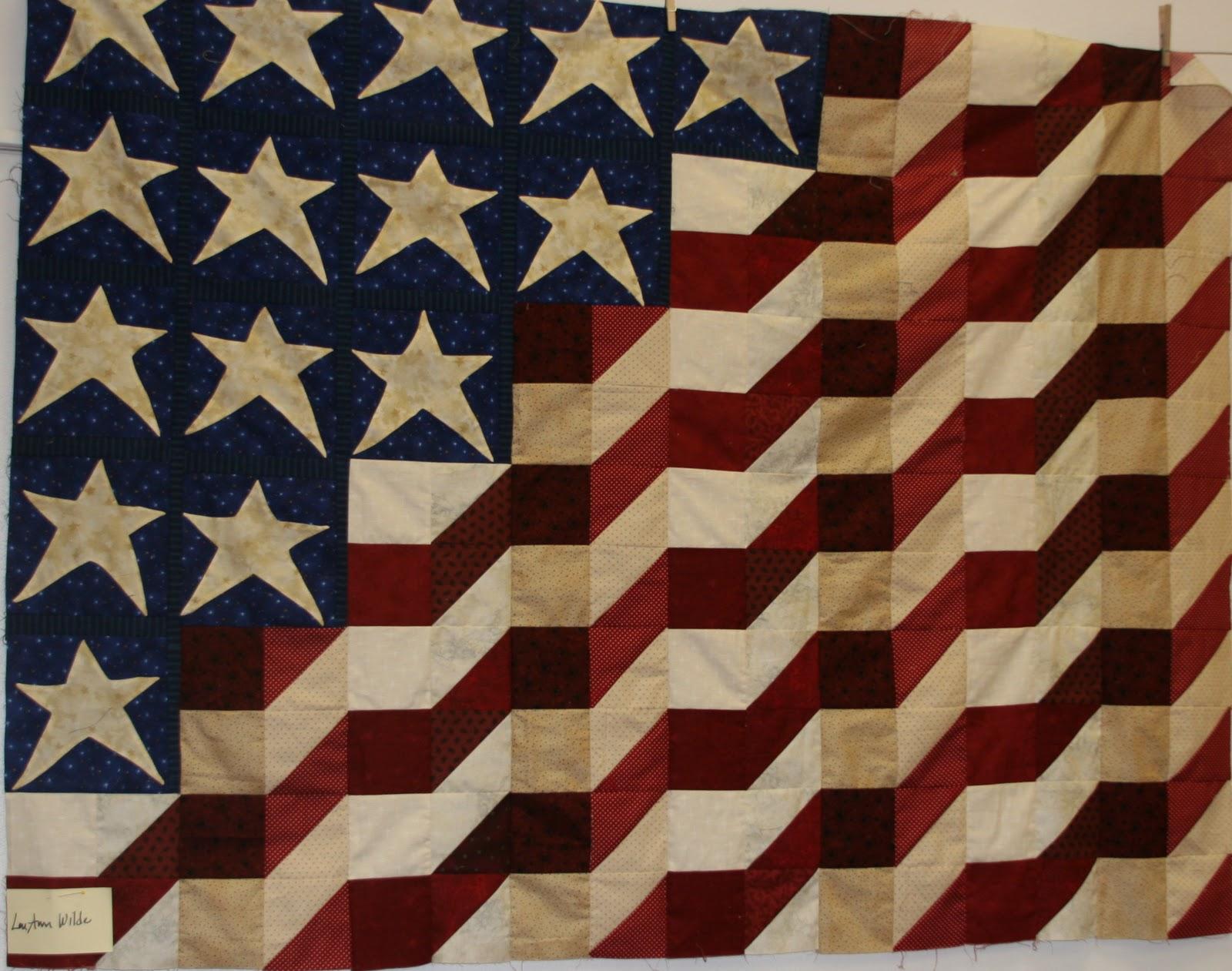 Utah Valley Quilt Guild Patriotic Quilts