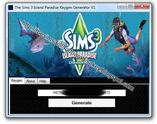 the sims 3 register key