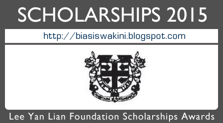 Lee Yan Lian Foundation Scholarship Awards