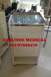 Bedside Cabinet Besi Untuk Orang Sakit