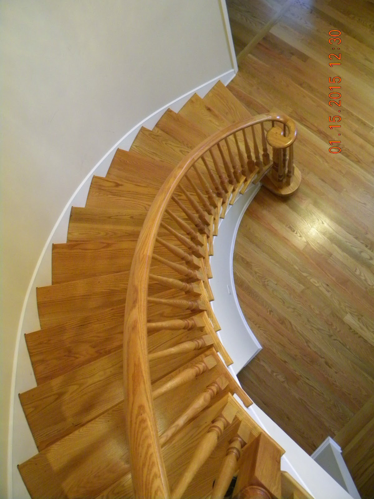 pin maple stained railing with black spindles on pinterest