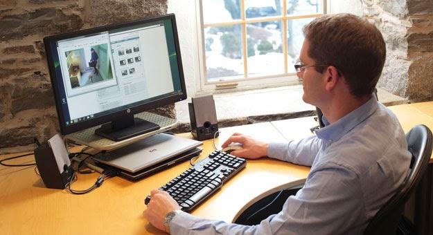 حماية العينين من أشعة الحاسوب والهواتف الذكية الضاره