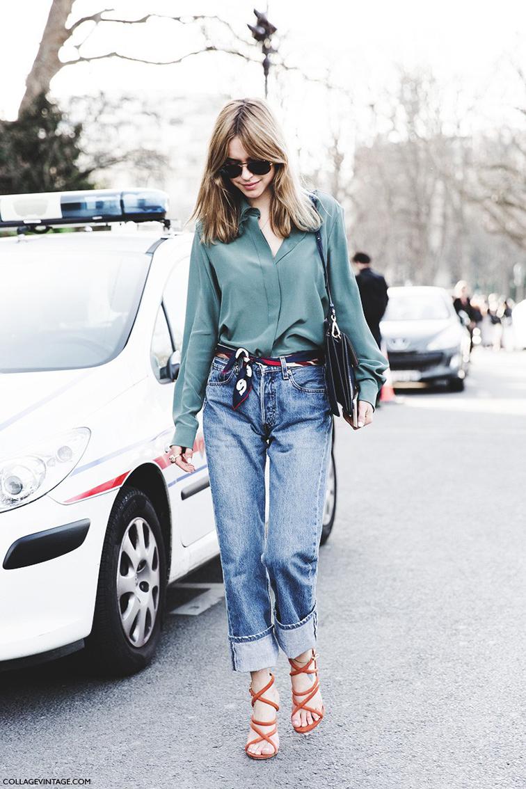 Look de Pernille, Pernille Taesbek street style, PFW, Paris street style wearing Chloé
