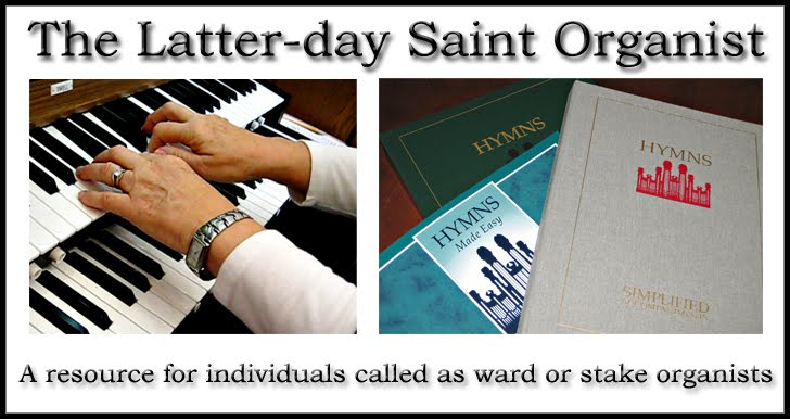 The Latter-day Saint Organist