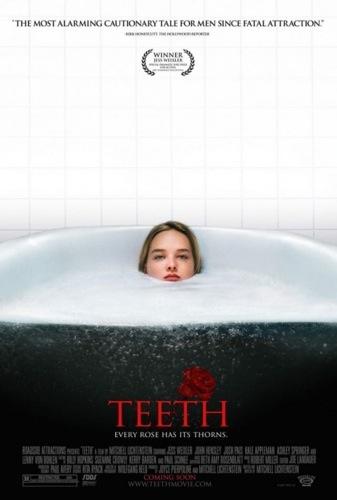 Girl with teeth in vagina