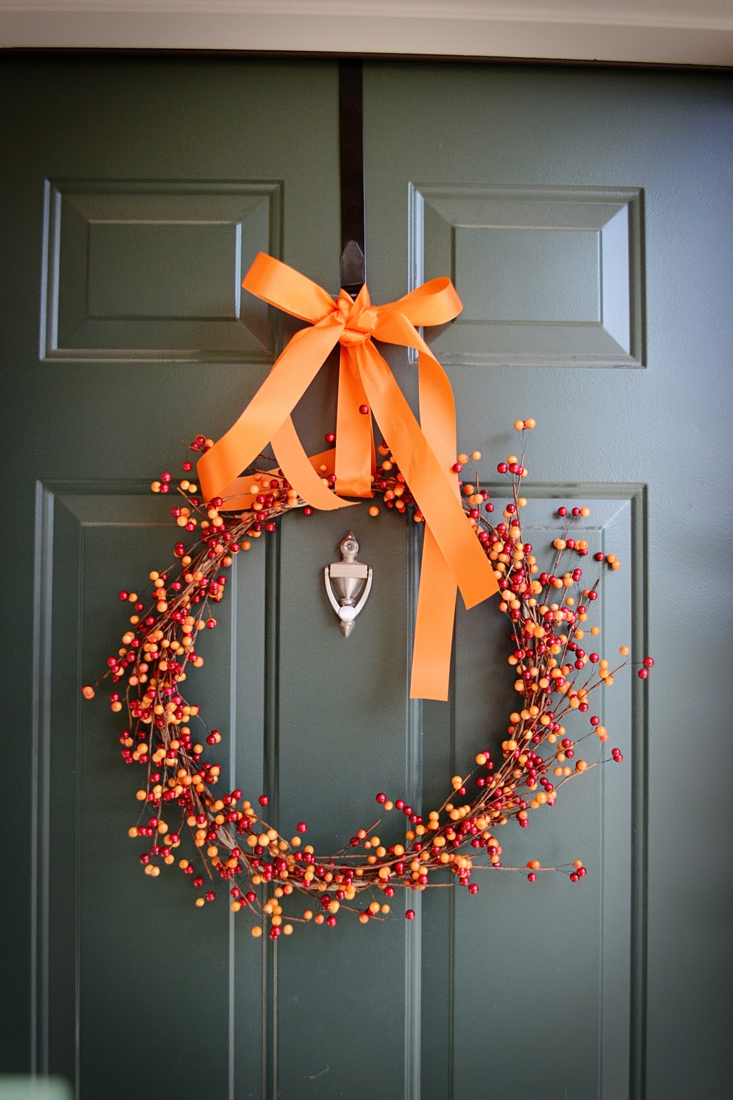 Davis Day By Day Fall Berry Wreath Diy