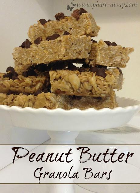 """Simple yet delicious, """"no-bake"""" granola bars."""