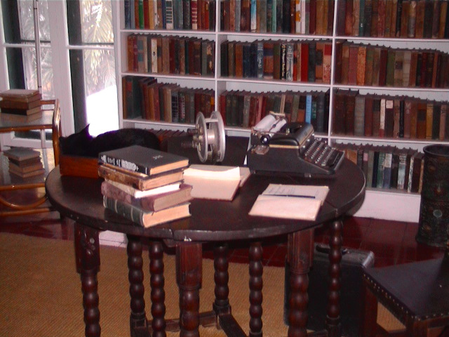 Hemingway Writing Desk Haunted