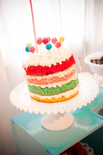 Торт шарики-бобики с фото