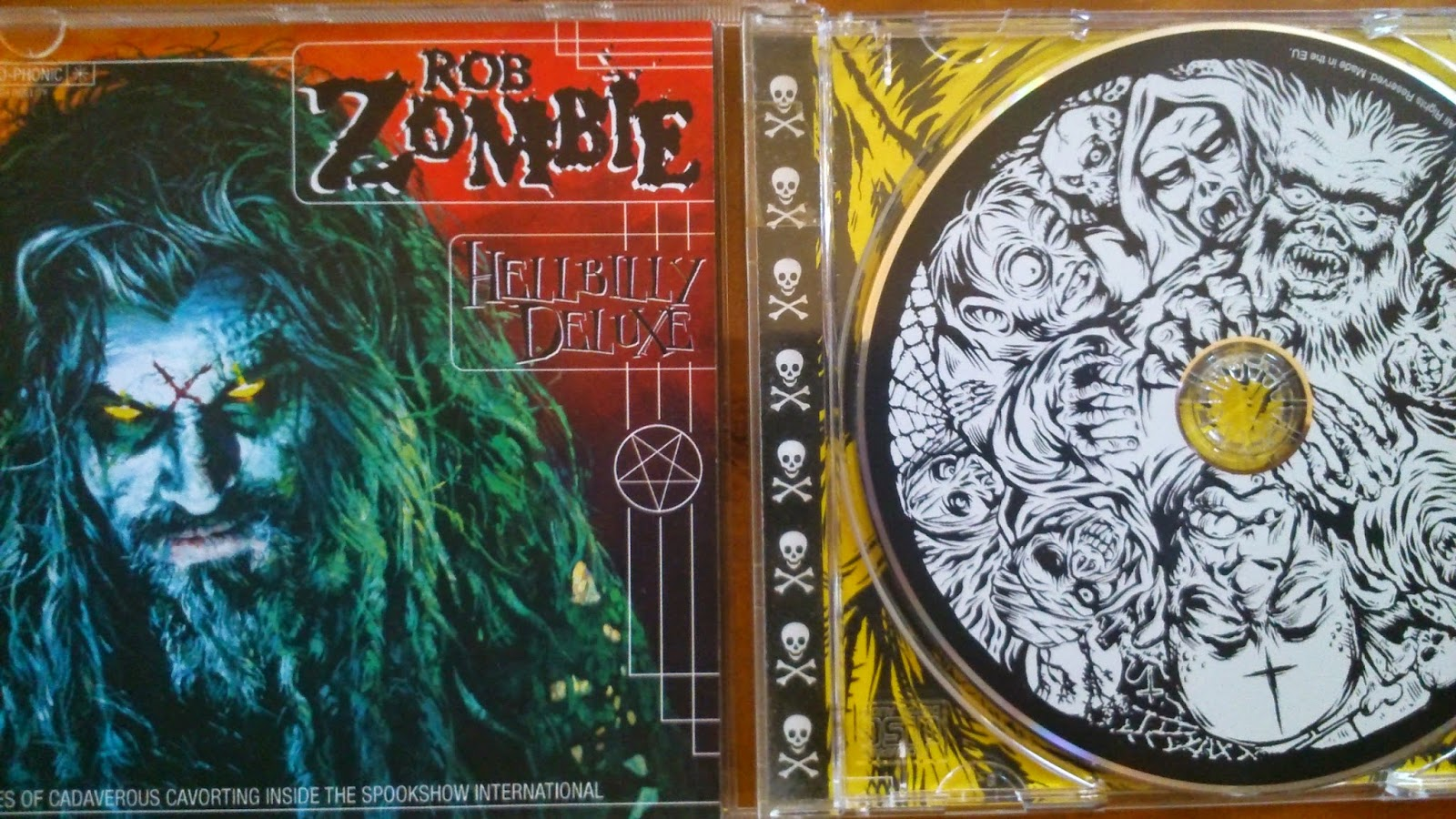 Hellbilly Deluxe, Rob Zombie