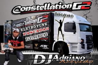 CAPA CD CONTELACION G2 EXCLUSIVE - DJ ADRIANO AZEVEDO
