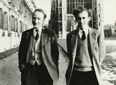Watson und Crick in Cambridge