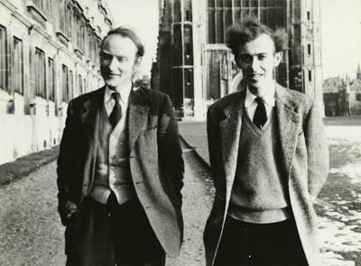 Watson und Crick in Cambridge
