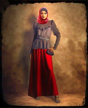 Ulangan Ku: Baju Pesta Muslim Modern