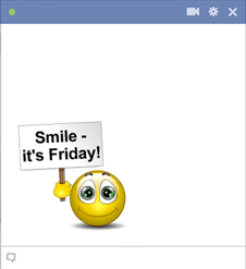 Friday Emoticon