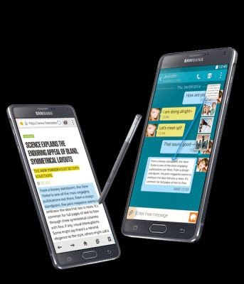 Samsung Galaxy Note 4 si Galaxy Note Edge