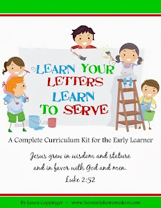 Learn Your Letters Learn to Serve Preschool Curriculum